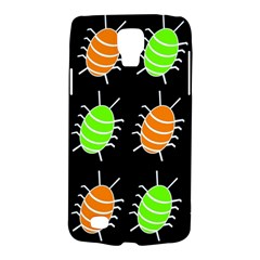 Green and orange bug pattern Galaxy S4 Active