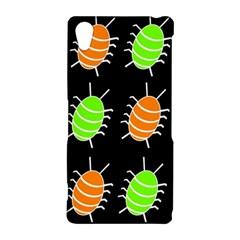 Green and orange bug pattern Sony Xperia Z2