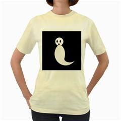 Ghost Women s Yellow T-Shirt