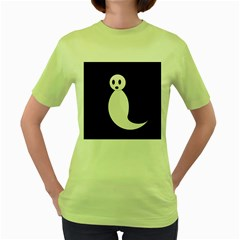 Ghost Women s Green T-Shirt