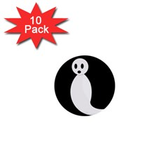 Ghost 1  Mini Buttons (10 pack)