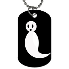 Ghost Dog Tag (One Side)