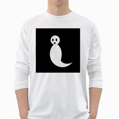 Ghost White Long Sleeve T-Shirts