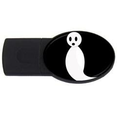 Ghost USB Flash Drive Oval (4 GB)