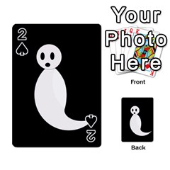 Ghost Playing Cards 54 Designs