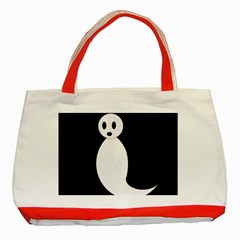 Ghost Classic Tote Bag (Red)