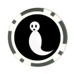 Ghost Poker Chip Card Guards