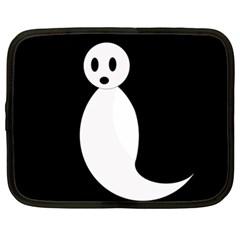 Ghost Netbook Case (XL)