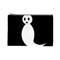 Ghost Cosmetic Bag (Large)