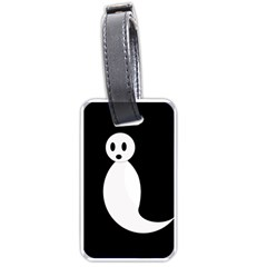 Ghost Luggage Tags (Two Sides)