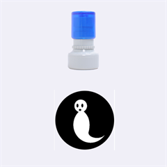 Ghost Rubber Round Stamps (Small)