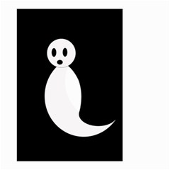 Ghost Small Garden Flag (Two Sides)