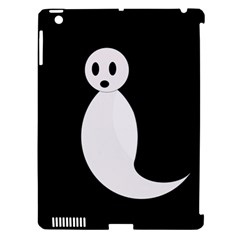 Ghost Apple iPad 3/4 Hardshell Case (Compatible with Smart Cover)