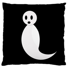 Ghost Large Cushion Case (Two Sides)