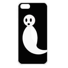 Ghost Apple iPhone 5 Seamless Case (White)