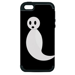 Ghost Apple iPhone 5 Hardshell Case (PC+Silicone)