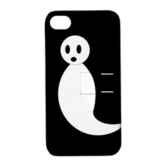 Ghost Apple iPhone 4/4S Hardshell Case with Stand