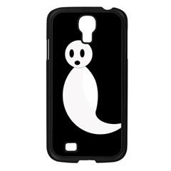 Ghost Samsung Galaxy S4 I9500/ I9505 Case (Black)