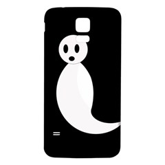 Ghost Samsung Galaxy S5 Back Case (White)