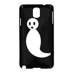 Ghost Samsung Galaxy Note 3 Neo Hardshell Case (Black)