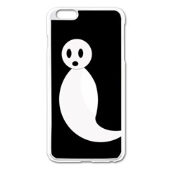 Ghost Apple iPhone 6 Plus/6S Plus Enamel White Case