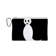 Ghost Canvas Cosmetic Bag (S)