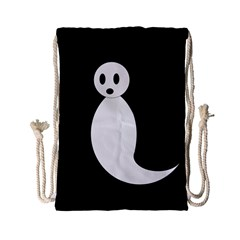 Ghost Drawstring Bag (Small)