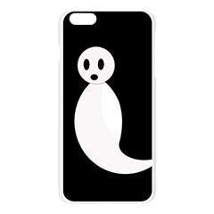 Ghost Apple Seamless iPhone 6 Plus/6S Plus Case (Transparent)