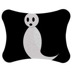 Ghost Jigsaw Puzzle Photo Stand (Bow)
