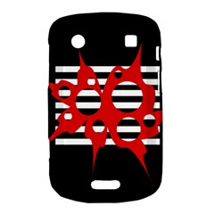 Red, black and white abstract design Bold Touch 9900 9930