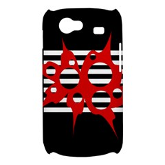 Red, black and white abstract design Samsung Galaxy Nexus S i9020 Hardshell Case