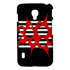 Red, black and white abstract design LG Optimus L7 II