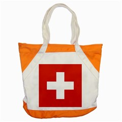 National Flag Of Switzerland Accent Tote Bag