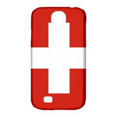 National Flag Of Switzerland Samsung Galaxy S4 Classic Hardshell Case (PC+Silicone)