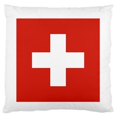National Flag Of Switzerland Standard Flano Cushion Case (Two Sides)