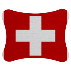 National Flag Of Switzerland Jigsaw Puzzle Photo Stand (bow)