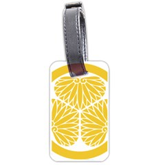 Tokugawa Family Crest Luggage Tags (Two Sides)