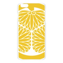 Tokugawa Family Crest Apple Seamless iPhone 6 Plus/6S Plus Case (Transparent)