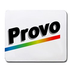 Flag Of Provo  Large Mousepads