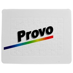 Flag Of Provo  Jigsaw Puzzle Photo Stand (Rectangular)