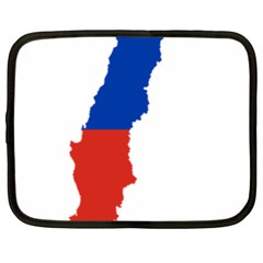 Flag Map Of Chile  Netbook Case (XL)