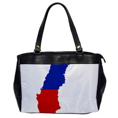 Flag Map Of Chile  Office Handbags