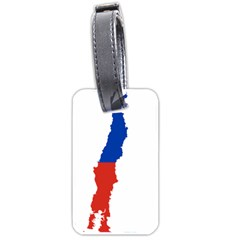 Flag Map Of Chile  Luggage Tags (One Side)