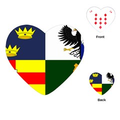 Four Provinces Flag Of Ireland Playing Cards (Heart)