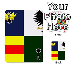 Four Provinces Flag Of Ireland Playing Cards 54 Designs