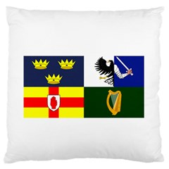 Four Provinces Flag Of Ireland Standard Flano Cushion Case (Two Sides)