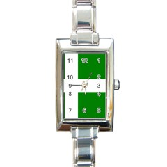 Flag Of Puerto Rican Independence Party Rectangle Italian Charm Watch