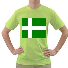 Flag Of Puerto Rican Independence Party Green T-Shirt