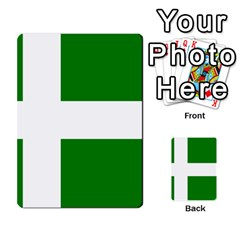 Flag Of Puerto Rican Independence Party Multi-purpose Cards (Rectangle)