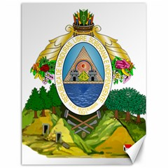 Coat Of Arms Of Honduras Canvas 12  x 16